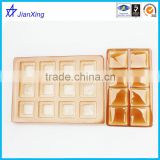 Disposable Plastic Golden base Biscuit Packing Trays