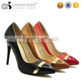 Factroy wholesale steel toe ladies high heel formal shoes