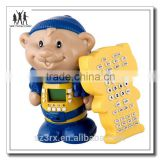 Cartoon newest educational electronic figure toys, interactive learning Story doll for children custom