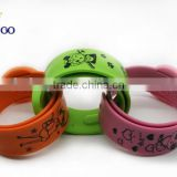 Eco-friendly lovely silicone mosquito bracelet bug repellent bracelets