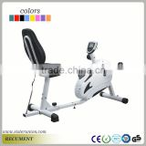 New Comfortable Folding Magnetic Exercise Bike Upright with Pulse Monitor