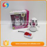 YK0807861Plastic B/O Robot with light&sound rc robot toy for sale