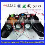 Electric game controller PCBA custom, PCB assembly