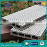 Mixed color wood plastic composite decking floor for outdoors                                                                         Quality Choice