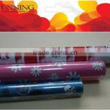 Flocking rolls gift wrapping paper for various colors