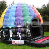 Large inflatable outdoor BLACK inflatable party grow tent house