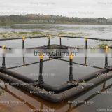 HDPE floating aquaculture net cage fish farm