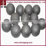 Chrome alloyed cement mill grinding ball casting ball