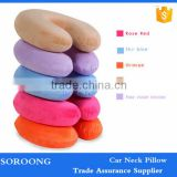 Experienced Manufacture Soft Custom Car Travel Memory Foam U Shape Neck Pillow                                                                         Quality Choice