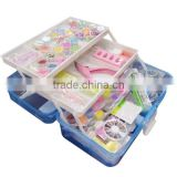 hotsale and wholesale cheap china best quality 88pcs nail plastic beauty case Nail Art Kit Set Acrylic Glitter Liquid Nail Art