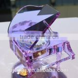 gift or souvenirs, crystal piano music box