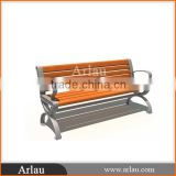 Cast Iron Leg Outdoor Wooden Bench
