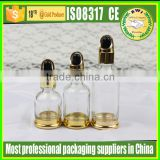 1.7oz 50ml 30ml 1oz glass dropper bottles for skincare/glass cosmetic serum dropper bottle for essential oil