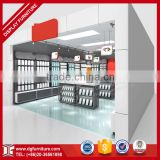 High quality mobile cellphone accessories wall counters display racks