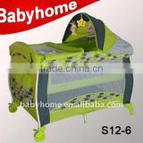 folding baby playpen with gate