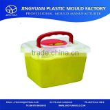 2014 wholesale Home high quality plastic mould(cup/box/jar) Household items plastic crate injected mold