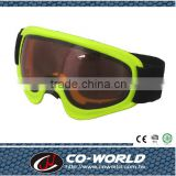 Children fluorescent yellow goggles, eye-catching colors that children love, security eyes
