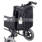 Topmedi Health Care Products Black Wheelchair Bag for Shopping/Storage/Carry Backpack