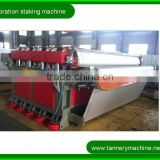 sheep goat cow crust skin machine leather staking machine 1600 to 3200mm leather vibration staking machine