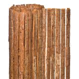 Natural Graden Bark Screening Fence