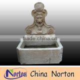 Lion head antique marble fountain NTMF-A010