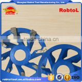 105mm L type segment diamond grinding wheel abrasive polishing disc for concrete granite marble double cup wheel