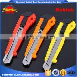 utility knife retractable blade box cutter art knives snap off lock razor blade plastic shell