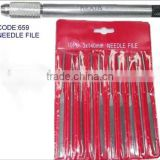 High Carbon Steel Needle File Hand Tool Set With Aluminum Handle