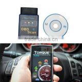 Bluetooth Android TORQUE ELM327 Car OBD2 diagnostic scanner for BMW VW Chevrolet
