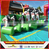 FUNNY Horse racing Inflatable Pony Hop Race for Kids and adult