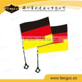 promotion cheap polyester Germany car window flag