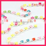 colorful acrylic cup chain in the bulk WRC-004
