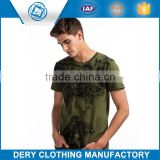 Best price customized color changing t-shirt with breathable yarn