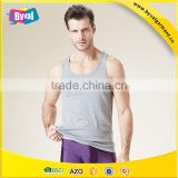 China suppliers wholesale 100 cotton men tank top custom running singlets custom t-back singlet