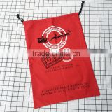 Wholesale cheap santa sacks with drawstring christmas high quality canvas gift sacks bags