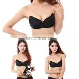 Sexy Women Strapless Bra Invisible Push Up Bra Angel Wing Shape Self-Adhesive Silicone Bust Front Bra Backless A B C