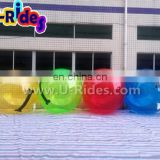 2015 hot sale colorful inflatable water walking ball for rental