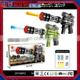 Hot sale EVA soft kids fighting water bullet toy gun for kids