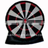 Inflatable black darting sports