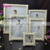 AP9012 Pearl Square Wedding Funny Photo Frames