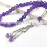 6*10mm glass twist beads tasbeeh beads handmade popular bracelet