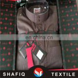 65/35 polyester and viscose fabric material muslim clothing daffah arab thobe thawb robe abaya thoub saudi style