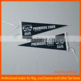 wholesale advertising custom felt triangle flag