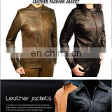 Leather Jacket, Women leather jacket / Sheepskin fashion leather jacket