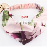 Floral Prints Bandanas Korean style Elastic Hair Bands Gum Hair for Girls Hair Accessories for Women