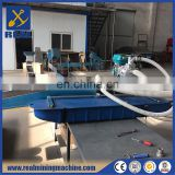 Gold dredging boat with engine diesel for sand gravel pumping