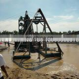 Floating Gold Mining Boat Cutter Suction Dredger