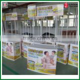 Hot Sale & Flexible Advertising display tables for Trade shows promo promotion table reception desk .