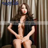 165cm European Oral Sex Lady JYD07E Lifelike Silicone Solid Sex Dolls With Skeleton Vagina/Anal/Oral Sex Toys Pussy Pump