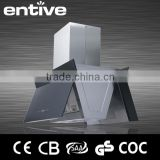 kitchen ceiling mounted charcoal filter range hood